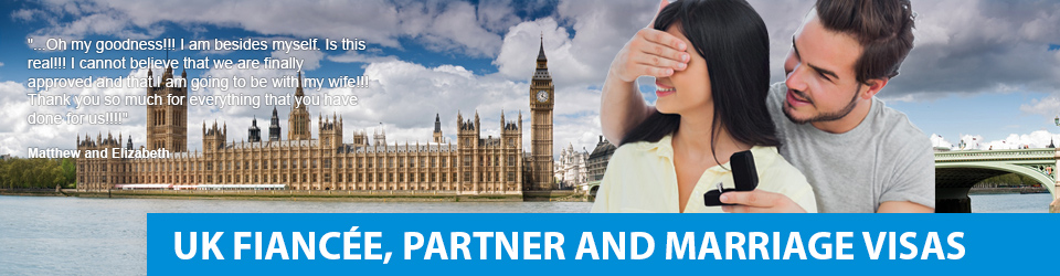 UK fiancee partner and spouse visa processing time